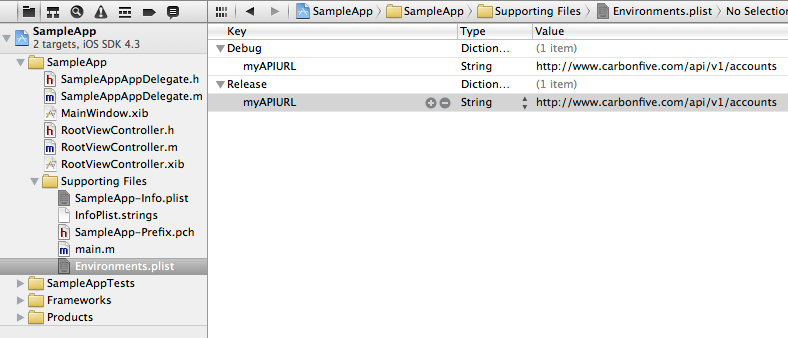Add Custom Properties to Configuration by Environment (Build Configuration)