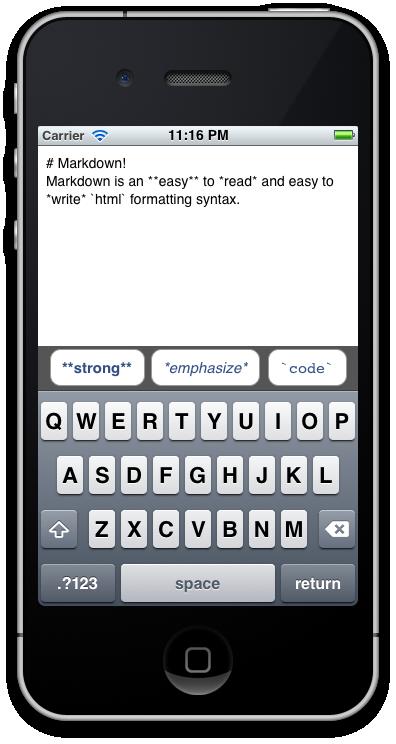 Customizing the iOS keyboard