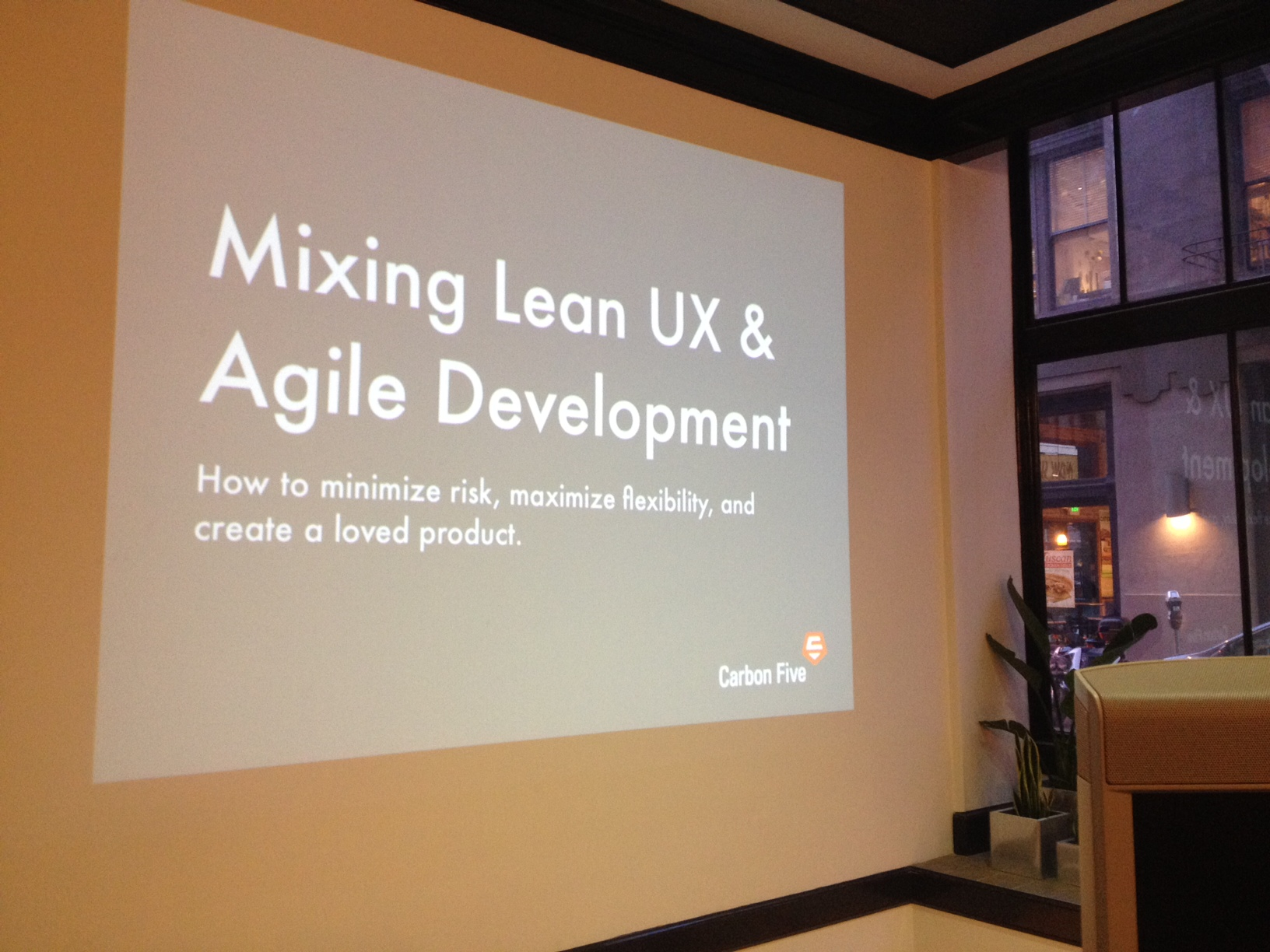 Mixing Lean UX with Agile Development