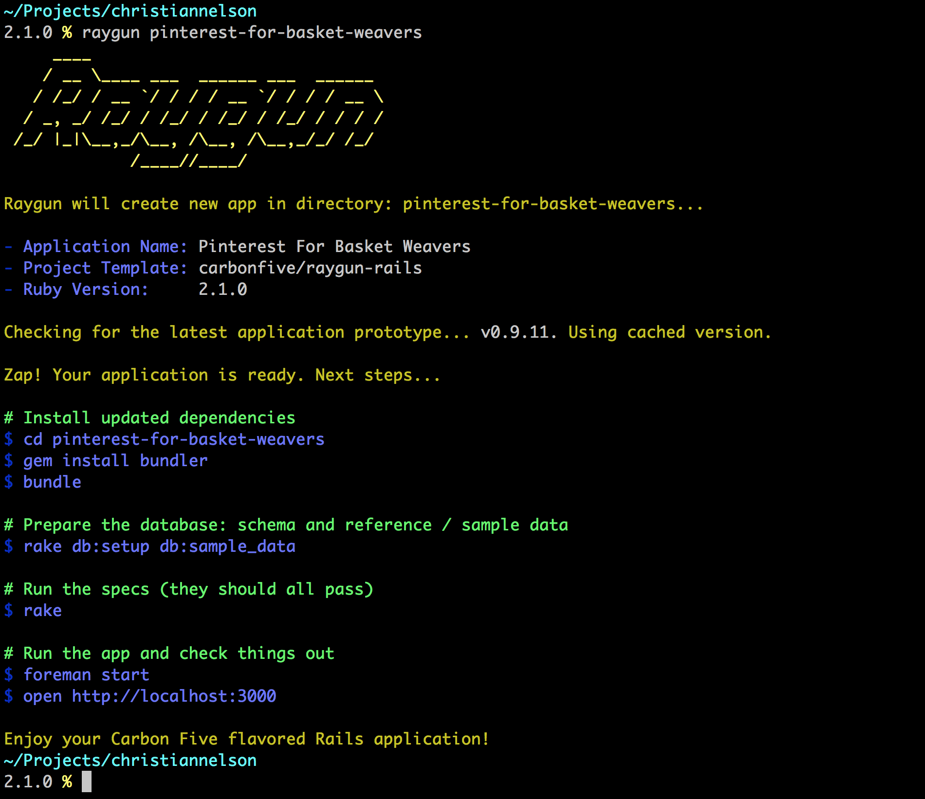 raygun-output