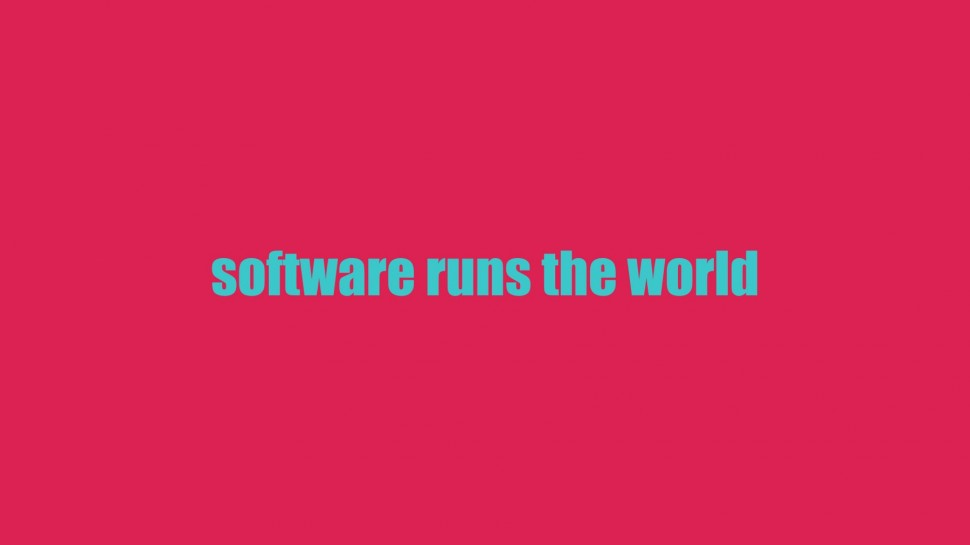 software runs the world