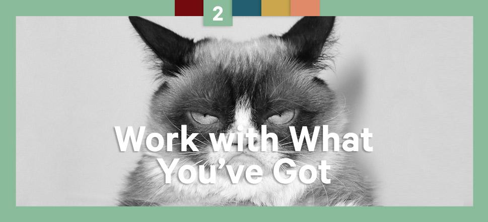 Step 2 Grumpy Cat