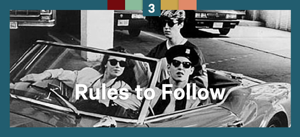 Step 3 Rules to Follow
