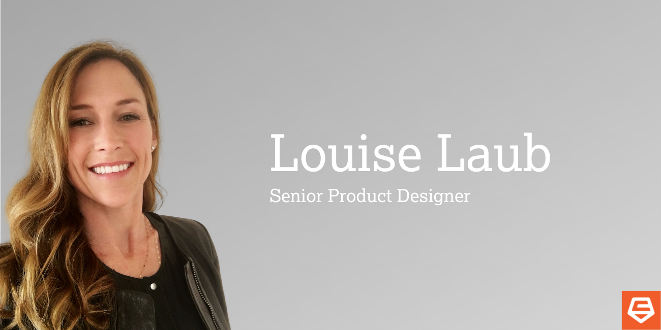 Carbon Five Roll Call Banner featuring Louise Laub, Senior Product Designer